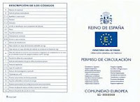 Permiso de circulación vehículo en España en multas