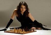 Alexandra Kosteniuk modelo y jugadora de ajedrez