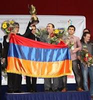 Armenia Medalla de Oro Olímpica de Ajedrez 2008