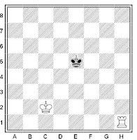 Aprender ajedrez: mate con una torre