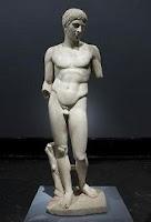 Escultura clásica: El Efebo de Dresde
