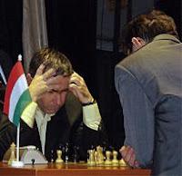 Partida de ajedrez Leko - Ivanchuk en enero de 2009
