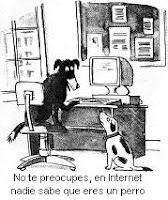 Chiste de perros e Internet para amenizar el tema de las constantes fijas en PLSQL