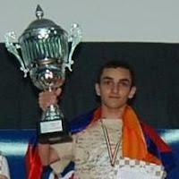 Samvel Ter-Sahakyan Campeon de Europa de Ajedrez Sub-18 2009