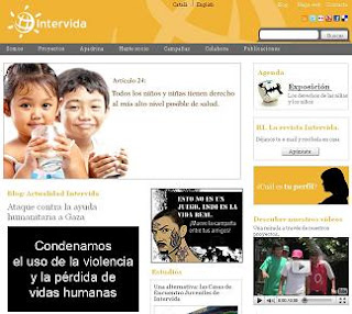 ONG Intervida con José Luis Pérez Pepelu