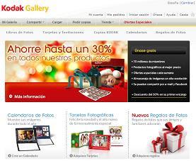 Kodak Gallery revelado de fotos en electrodoméstico