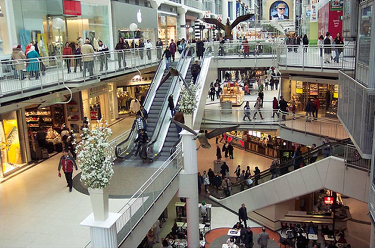 shopping mall photo Fashion Show Mall Las Vegas
