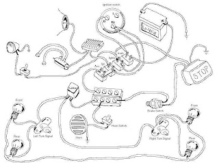 wordwind: Drawn Motorcycle Wiring Diagrams