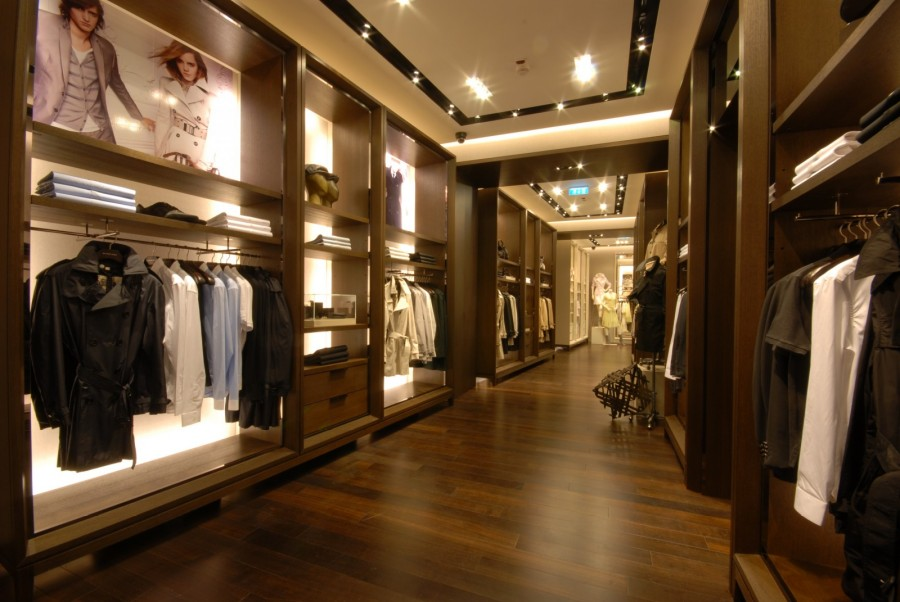 Burberry belgrade interior design - Men s clothing store interior design ideas ...