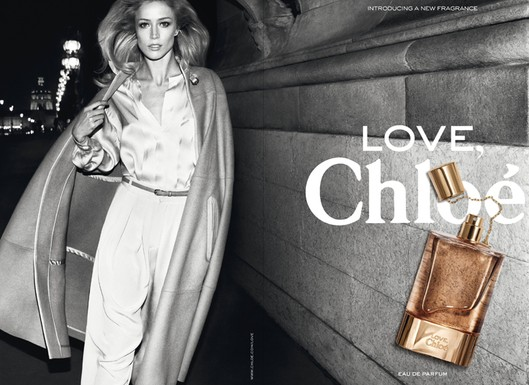 eeef761a40 Chloe has finally released the first image of their new Chloe LOVE campaign  with supermodel Raquel Zimmermann ...