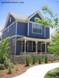 Colores para exteriores y fachadas for Colores para pintar paredes exteriores casa
