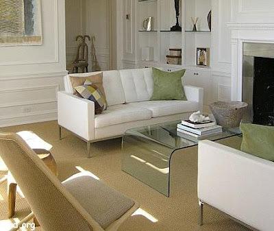 Combinar los colores de las paredes con los suelos - Muebles marron oscuro color pared ...