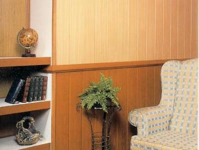 Paredes interiores revestidas con madera - Revestimientos de paredes interiores en madera ...