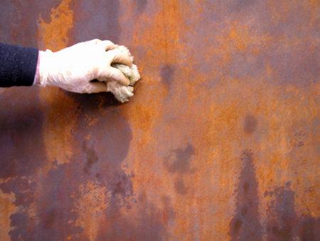 Efecto xido sobre paredes y objetos - Quitar oxido hierro ...