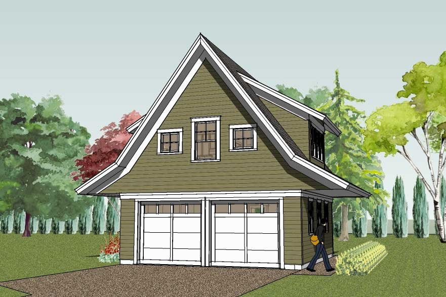 Garage Plans With Apartment Above: Simply Elegant Home Designs Blog: New Garage Apartment