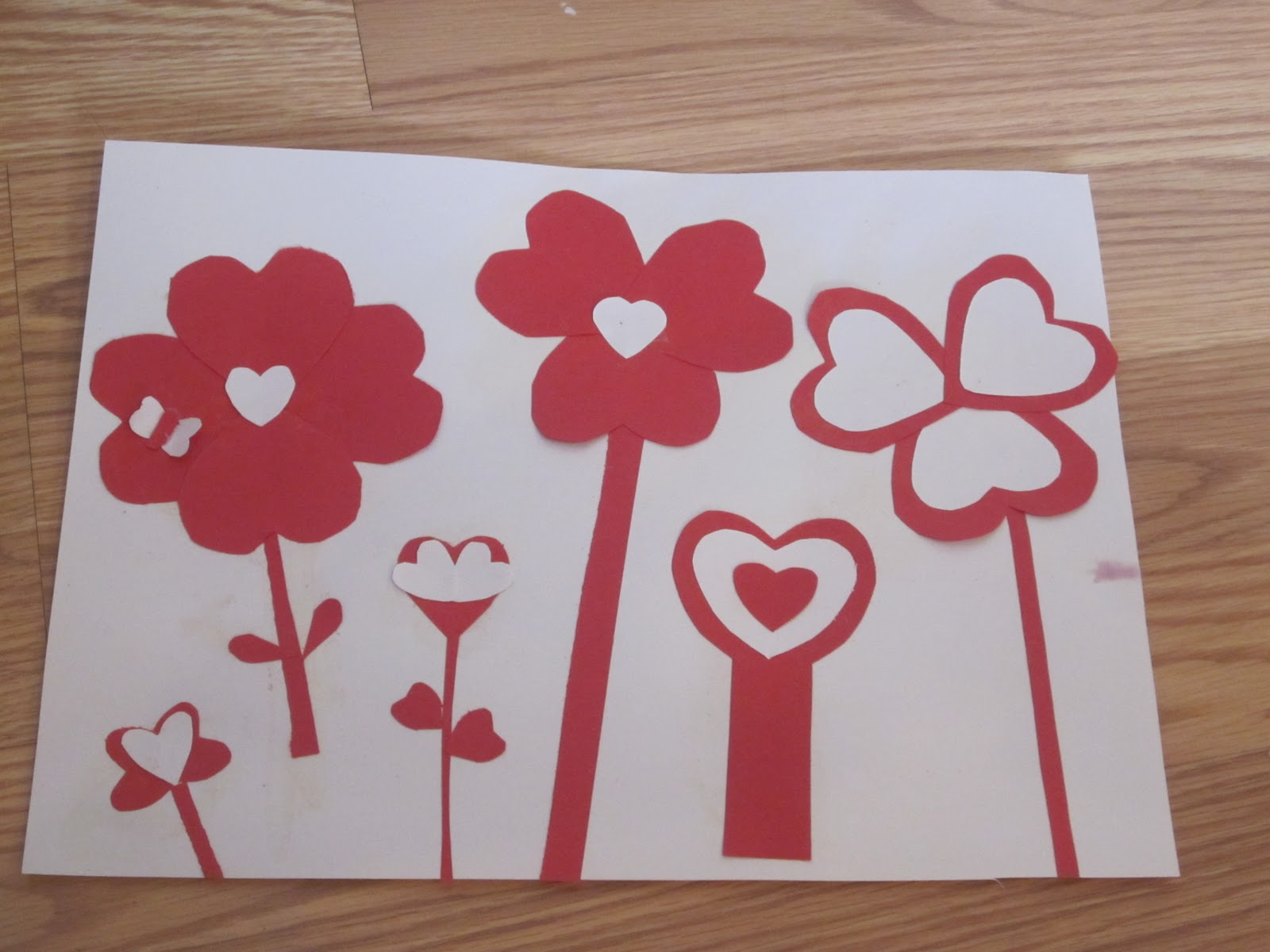 Valentines Day Arts And Crafts Valentine Craft Paper