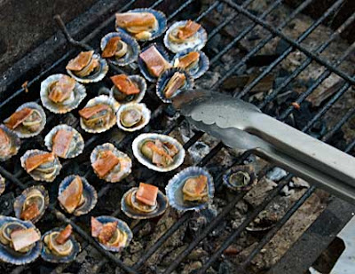 Limpets Casino on the Grill