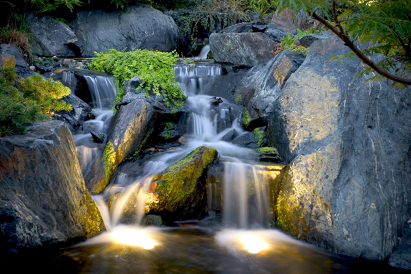 Aquascape Your Landscape Nightscaping The Pond