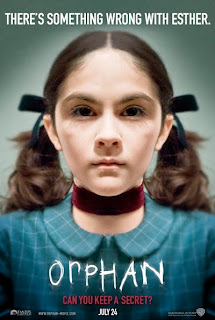 Poster for the film, Orphan