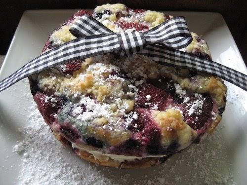 Light Fruit Cake Recipe Joy Of Baking: Mountain Breaths: Lemon Berry Cake With Mascarpone Filling