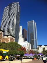 Signes De Vie Los Angeles Downtown Pied