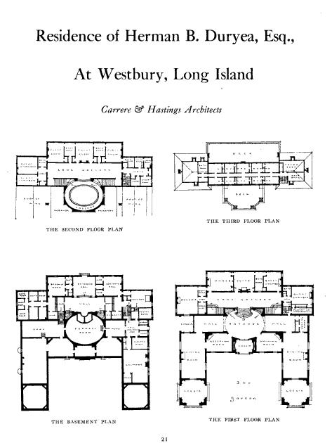 Old Long Island Knole – Knole House Floor Plan