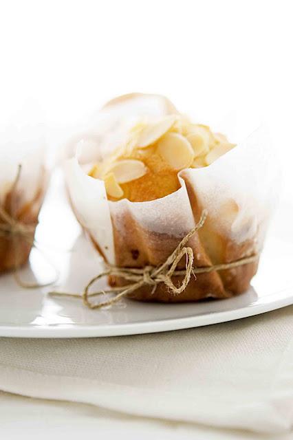 Muffins mandorle e vaniglia