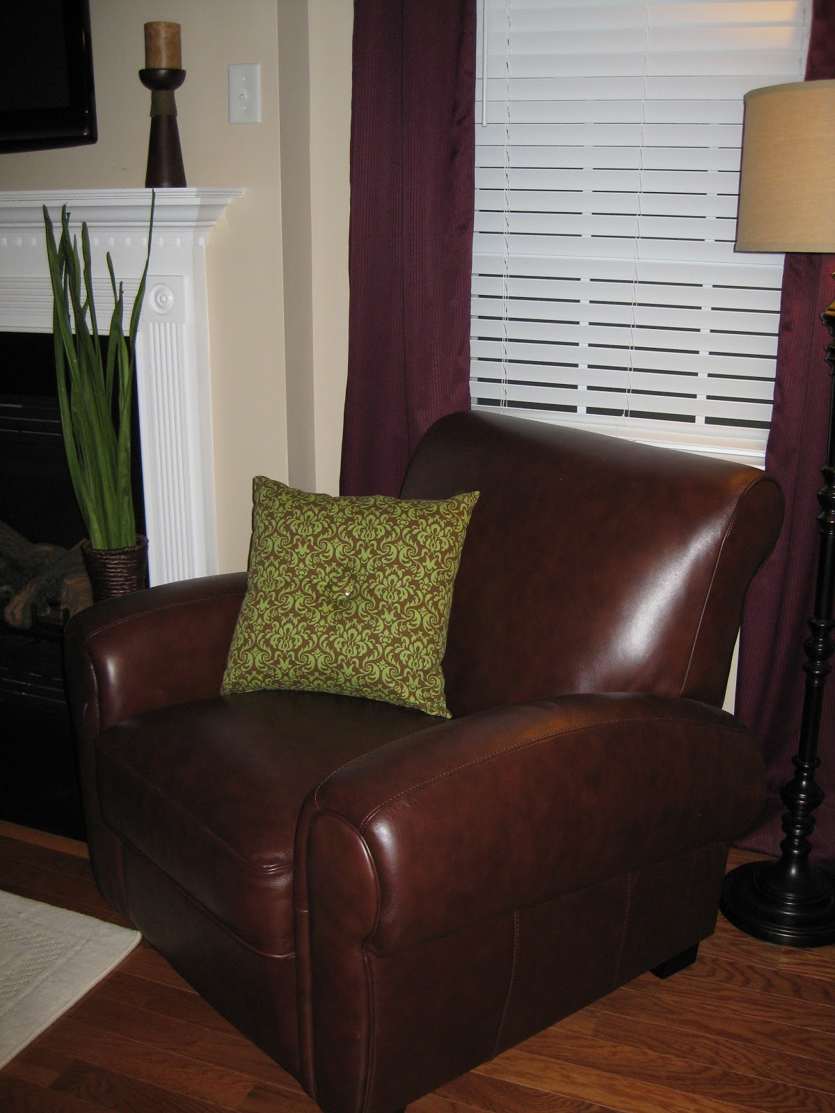 Homemade Living Room Pillows - LaForce Be With You