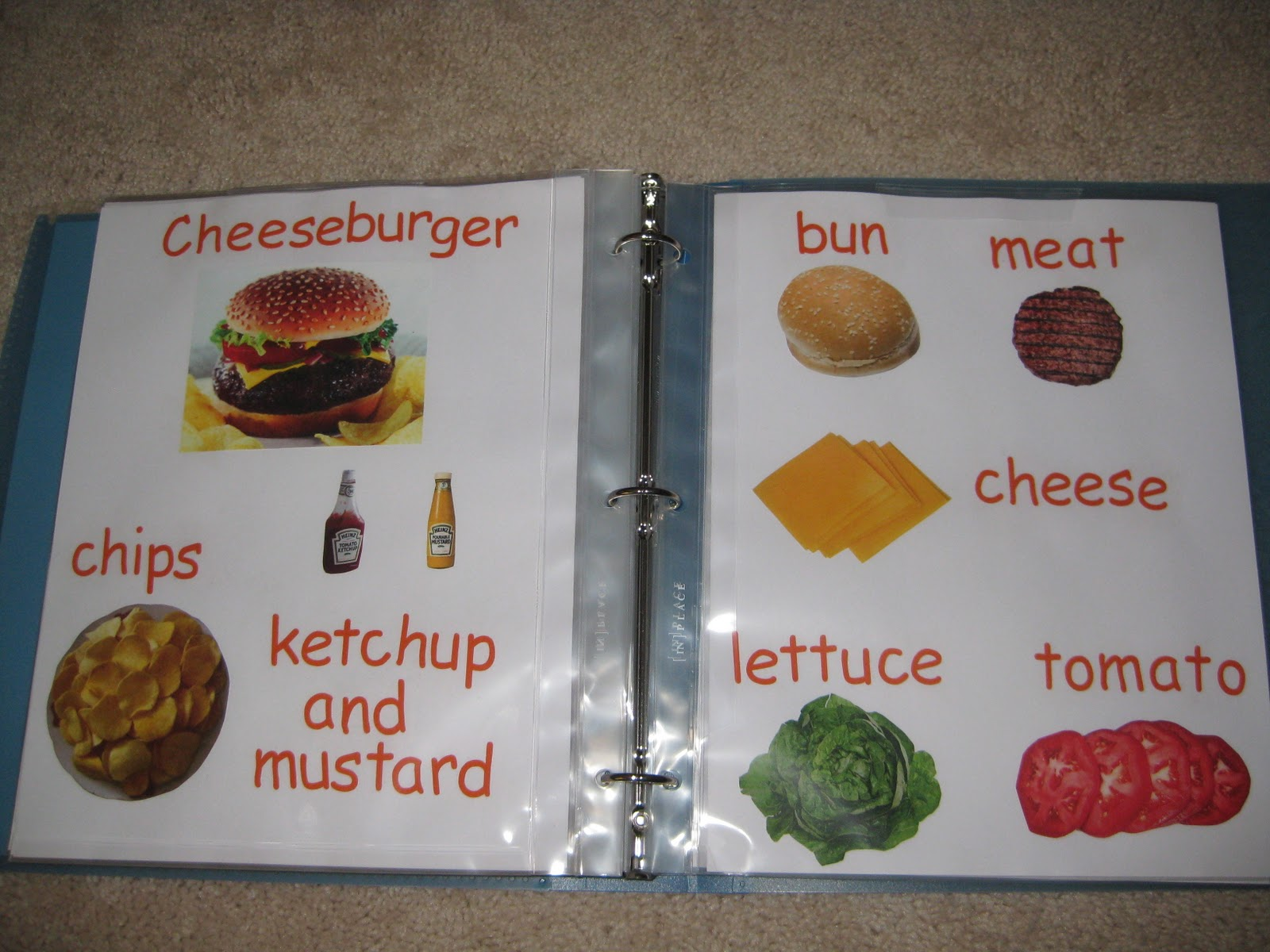 Learn To Read Recipe Book