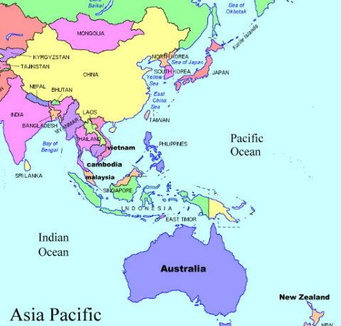 In Asian Pacific Region Russian 36