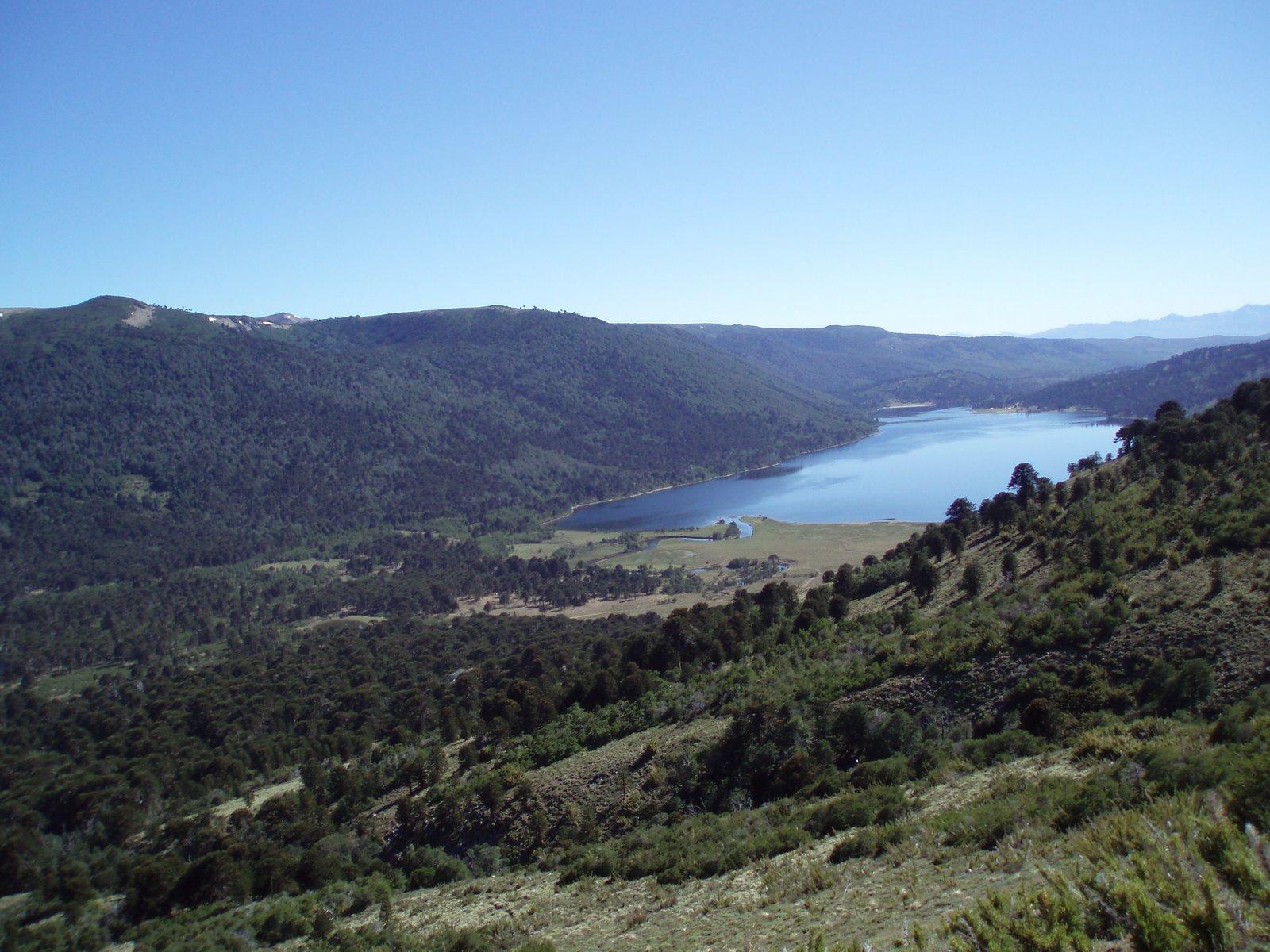 Cabecera oeste del lago Rucachoroi