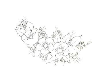 Galeria Dos Riscos Flores Para Pintar E Bordar