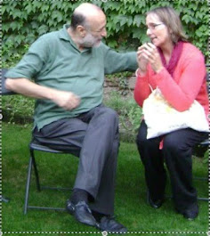 Carlo Petrini (author of Slow Food Nation and a social movement of 100,000+ folks) & Gigi in Italy