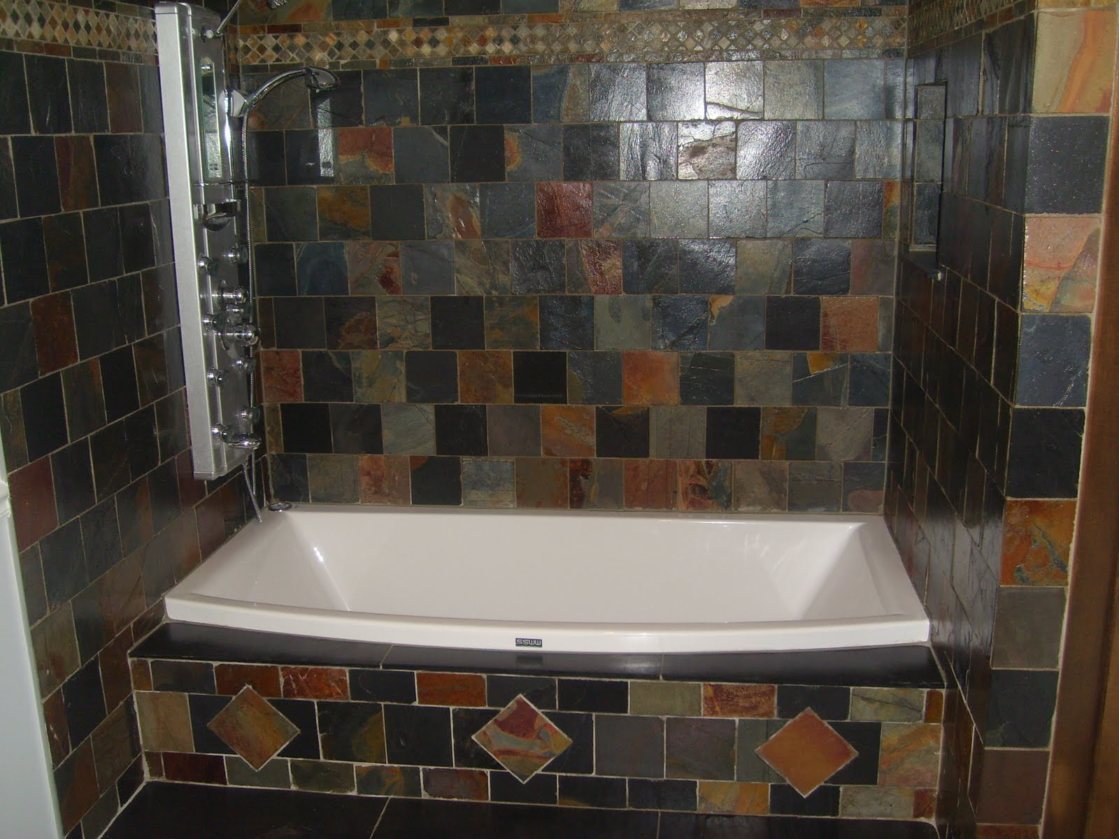 Slate Tile For Bathroom  Slate Tile Bathroom Tiles Floor. Slate Tile For Bathroom  Slate Tile Bathroom Glacier Fuda on Amortech