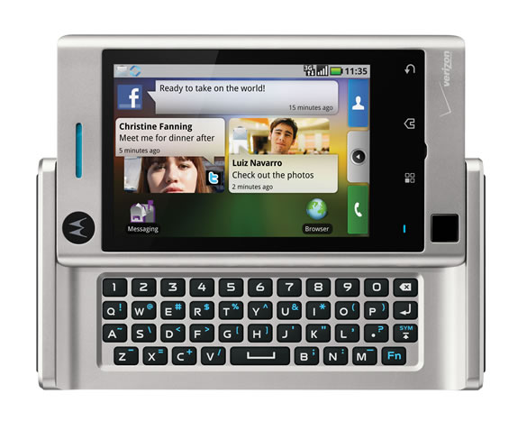 h Motorola Devourg