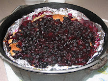 Gluten Free Dutch Oven Blueberry Cobbler