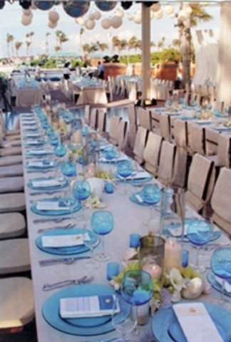 Hawaiian Island Wedding Planners Blue Green Amp White