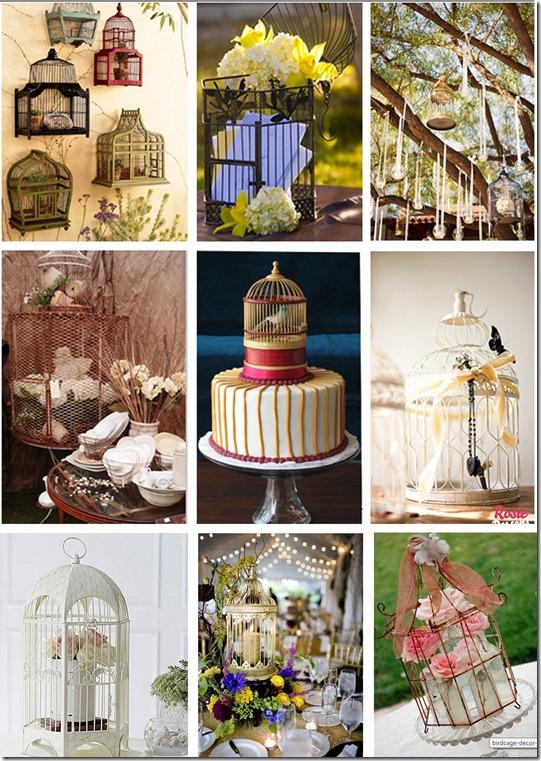 Bird Wedding Decor Love Theme Ideas