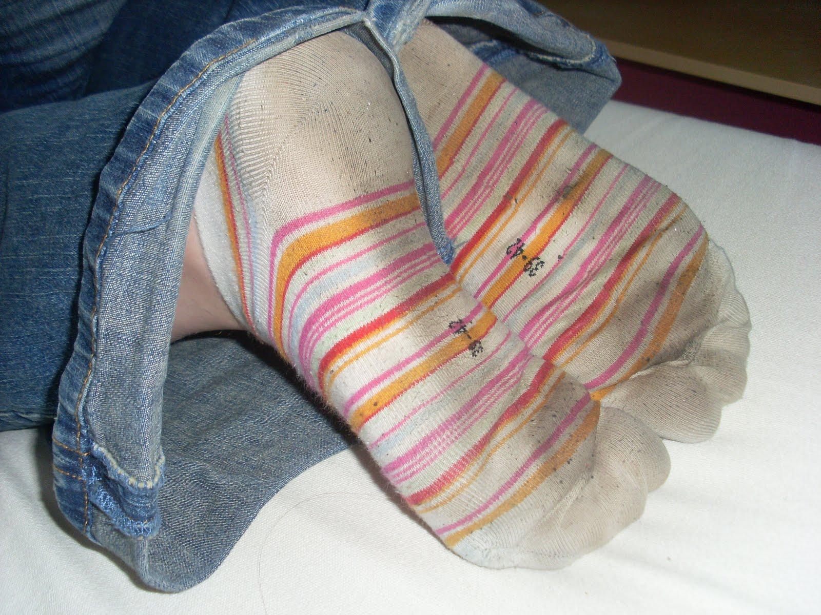 Female sock fetish