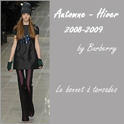 tendance mode 2008 2009