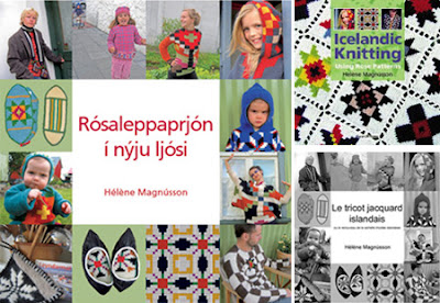 tricot jacquard islandais
