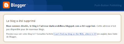 blog supprime