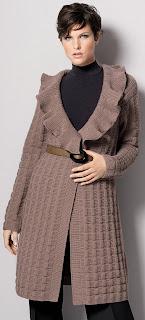 tricot manteau gedifra