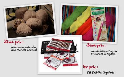 prix concours knit spirit