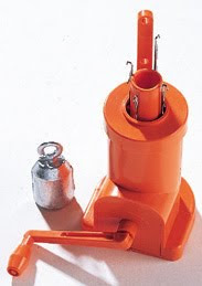 tricotin mecanique orange
