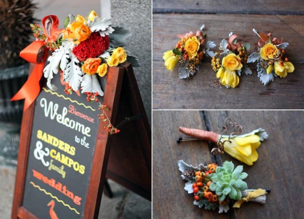 Fall Wedding Decoration Ideas