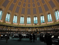 British library reading room.