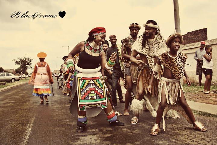 Blackframe Michel Amp Jane S Traditional Zulu Wedding