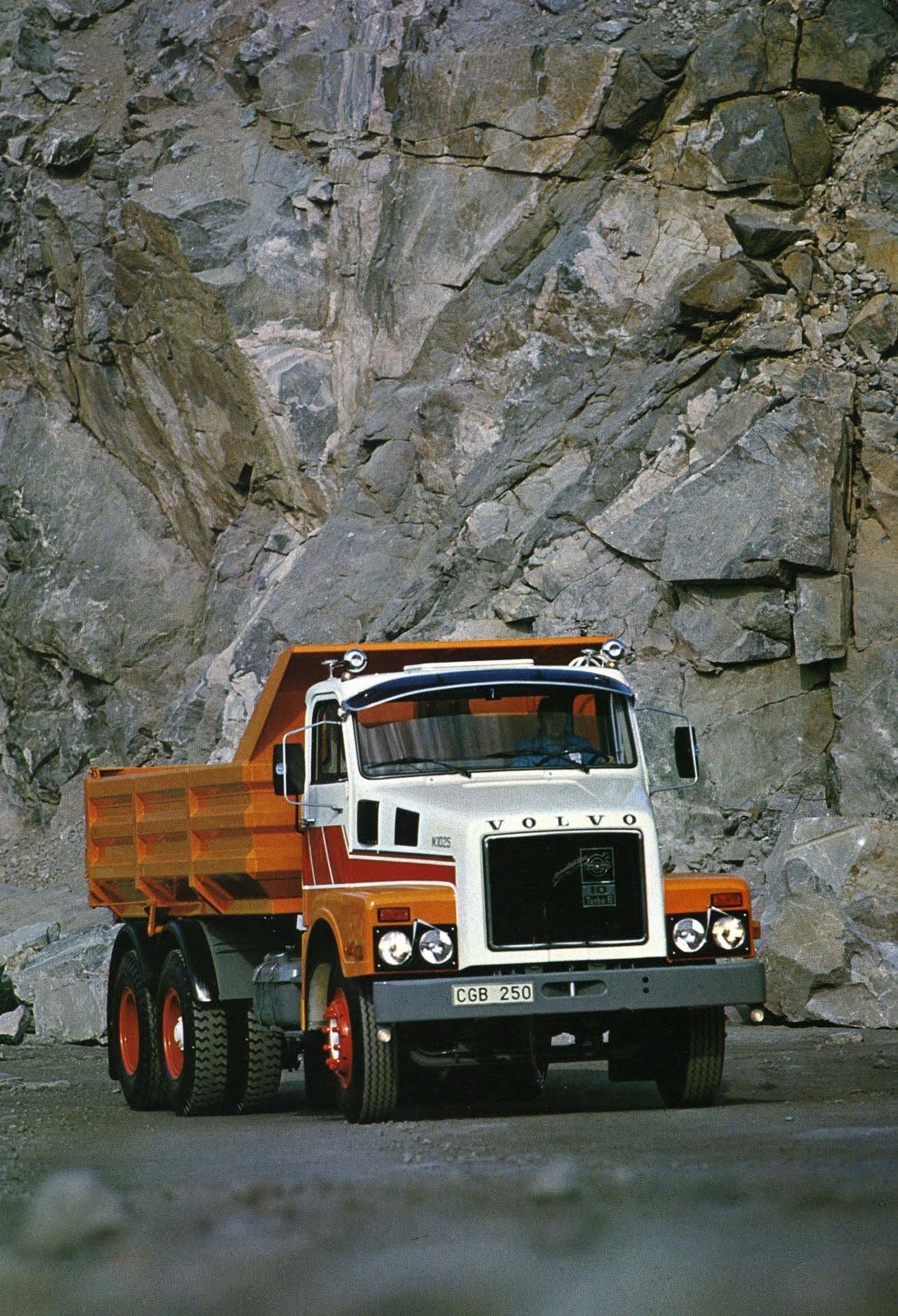 Historic Trucks: Volvo N10 - Sales brochures