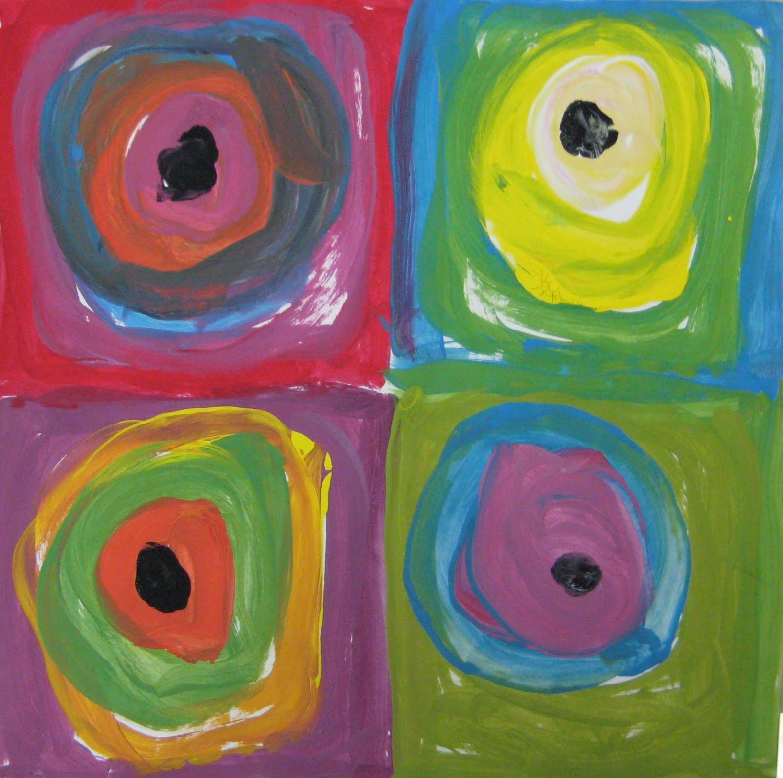 Kandinsky For Kinders Teachkidsart